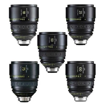 Rent Arri Master Prime 5x Lens Set