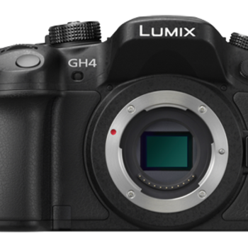 Rent Panasonic GH4 with Speedbooster, 3 batteries and 2x 128GB SD cards