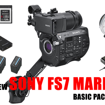 Rent Sony PXW-FS7M2 XDCAM mark II M2 Camera fs7 II + Metabone EF ready to go