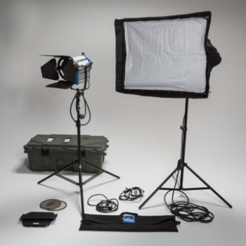 Rent Arri 1k Package with Chimera
