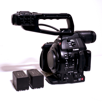 Rent Canon C100 Mark II - Body Only