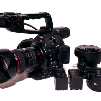 Rent Canon C100 Mark II - LENS KIT