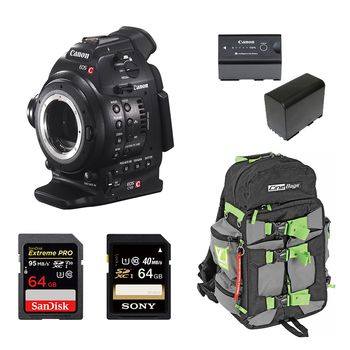 Rent Canon C100 (w/ Batteries, Cards)