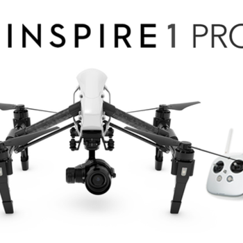Rent  Inspire 1 Pro with X5 camera. Three batteries, two remotes