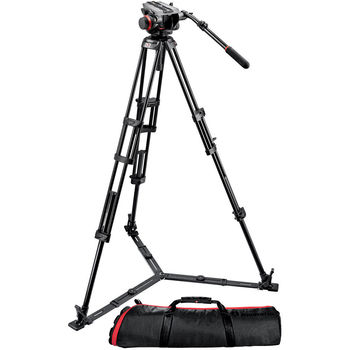 Rent Manfrotto 546GB Tripod with 501HDV Fluid Head