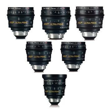 Rent Arri Ultra Prime 6x Lens Set