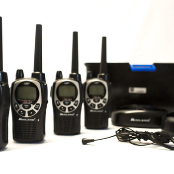 Rent 4pk Midland Walkie Talkies