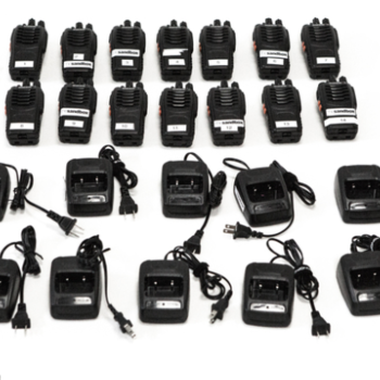 Rent 14 Walkie Talkies with Headsets