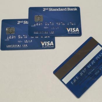Rent Fake EVM Visa Chip Credit Card