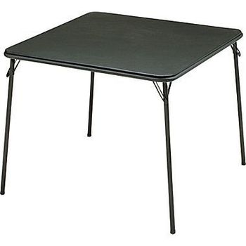 "Rent 34"" Folding Card Table"