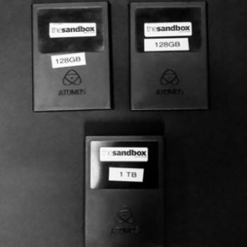 Rent ATOMOS SSD CARDS - 1TB, 128GB, 128GB