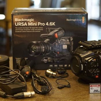 Rent Ursa Mini Pro EF or PL Mount/DJI Ronin/Zeiss Lenses Package