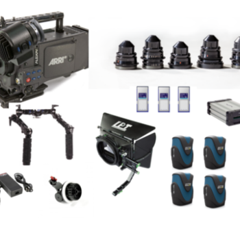 Rent Arri Alexa Classic Package + Cooke Speed Panchro Lenses