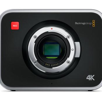 Rent Production Camera 4K (EF Mount)