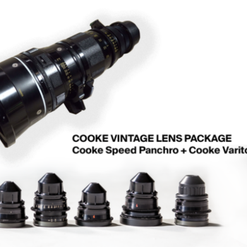 Rent Cooke Speed Panchro Lens Package + Cooke Varotal Zoom