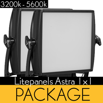 Rent (2) LITEPANELS ASTRA 1×1 SOFT BI-COLOR LED PANELS