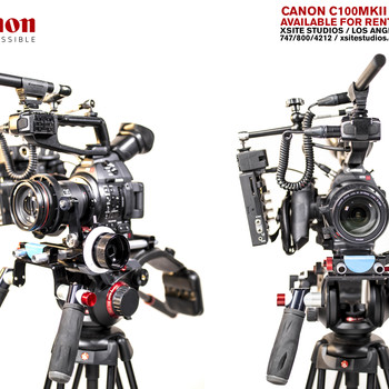 Rent Canon EOS C100 Cinema Camera MKII Package