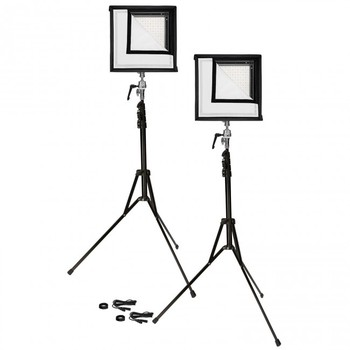 Rent Flex 1' x 1' Bi Color Mat LED Cine Double Kit