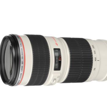 Rent Canon 70-200mm Lens