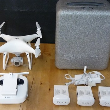 Rent DJI Phantom 4 Pro Drone w/ Accessories