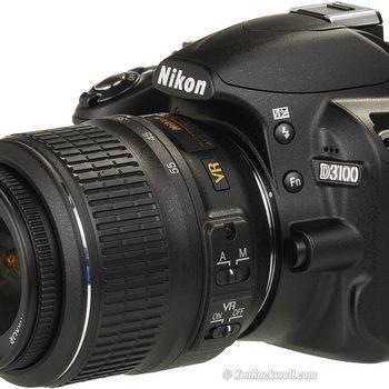 Rent Nikon D3100