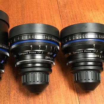 Rent Zeiss CP.2 Prime Lenses
