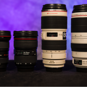 Rent Canon EF Lenses  *Price Per Lens