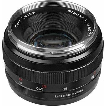 Rent Zeiss Normal 50mm f/1.4 ZE Planar T* Manual Focus Lens for Canon EOS Cameras