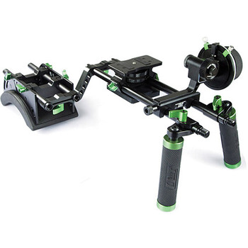 Rent Lanparte Double Handle Shoulder Rig (w/ Counterweights)