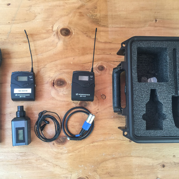 Rent WIRELESS RODE REPORTER MIC KIT WITH ADDITIONAL LAV