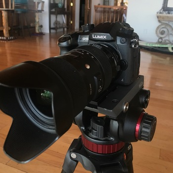 Rent GH5 kit with Sigma 18-35 lens and tripod