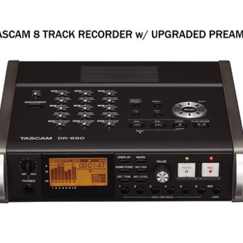 Rent Tascam DR‑680 (upgraded preamps) 8-Track Recorder