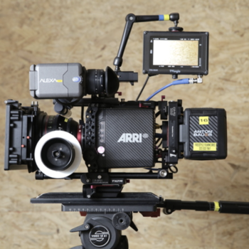 Rent Alexa Mini 4K with 4:3 | PRO Package | Canon CN-E Primes