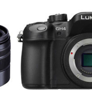 Rent Panasonic LUMIX DMC-GH4K (Body) + Panasonic H-FS45150K Lumix G Series Lens with extra batteries