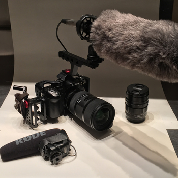 Rent Panasonic GH4 INTERVIEW/DOC !LOADED! kit with sound package