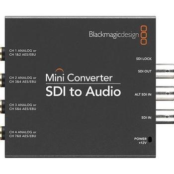 Rent Blackmagic SDI to Audio Converter