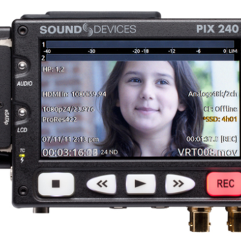 Rent Sound Devices PIX 240 w/2 SSDs
