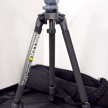 Rent Miller DS-10 DV Fluid Head and Solo Aluminum Tripod with Pan Handle and Bag