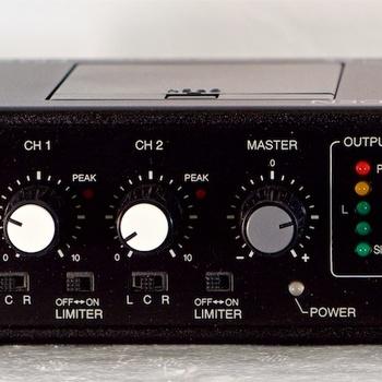 Rent Azden FMX-22 Portable Field Mixer