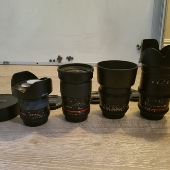 Rent Rokinon Lens Kit (Canon EF Mount)