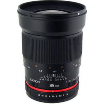 Rent Rokinon 35mm f.1.4 Canon EF Mount