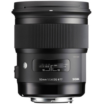 Rent Sigma Art 50mm f/1.4 DG HSM Lens for Canon EF