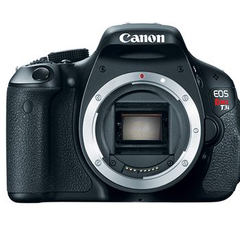Rent Canon EOS Rebel T3i 18.0 MP Digital SLR Camera (Body Only)