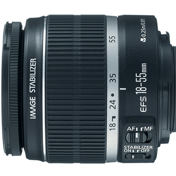 Rent Canon EF‑S 18‑55mm f/3.5‑5.6 IS T3i Kit Lens