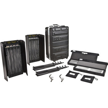 Rent  (2) Kino Flo Diva-Lite 415 Universal 2-Light Kit with Flight Case