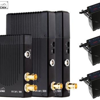 Rent Teradek Bolt 500 3G-SDI Video Transceiver Set w 3 Batteries