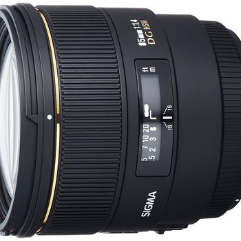 Rent Sigma 85 mm f/1.4 EX DG HSM Telephoto Lens for Canon