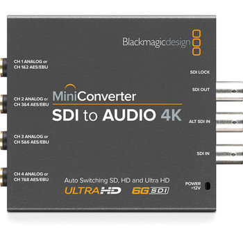 Rent Blackmagic Design Mini Converter SDI to Audio 4K