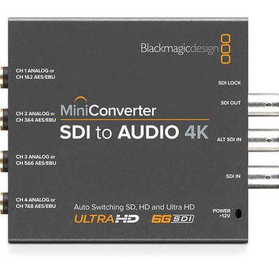 Sdi 4k to audio