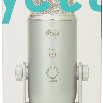 Rent Blue Yeti USB Microphone - Silver